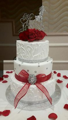Calumet Bakery Wedding Cake
