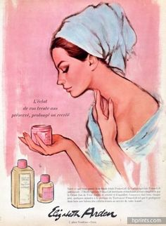 Elizabeth Arden (Cosmetics) 1967 (Pink Version C)