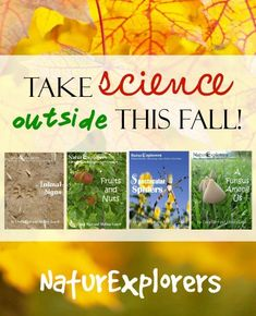 #ad Make Learning Memorable with Nature Studies! Use Code: FALLFUN for 20% Off all orders through 10/30/16 https://ourjourneywestward.com/ref/5/