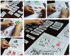 Sylabowe tabelki&lodowe rożki ----> czytamy przez zabawę - Pomysłowe Smyki Mamy - nasz kreatywny świat