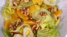 Moroccan Orange Walnut Salad / سلطة البرتقال والجوز