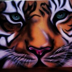 Tiger spirit painting 18 x 24 in. Pro collectors canvas #Realism