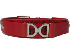 Double D Leather Collar