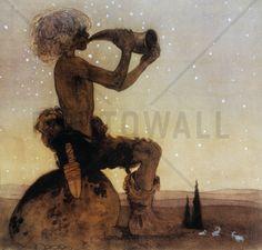 John Bauer - Vil-Vallareman - Decoration Murale & Papier Peint Photo - Photowall