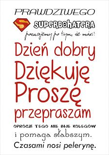 Ania mama Agnieszki: Plakaty do druku Primary School, Pre School, Back To School, Brush Lettering, Kids And Parenting, Motto, Sentences, Montessori, Crafts For Kids
