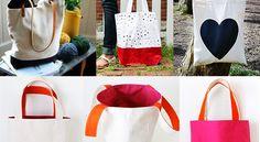 Bastelideen für coole DIY Stofftaschen - fresHouse