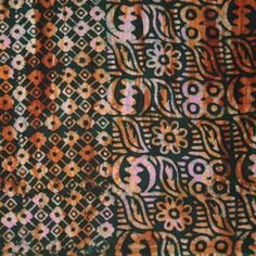 Batik Fabric with Adinkra Designs Craft, Fabrics, Textiles, Sewing, Rugs, Home Decor, Tejidos, Farmhouse Rugs, Dressmaking