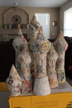 Great tips for Paper Mache Recipes. Blog has many cool designs.