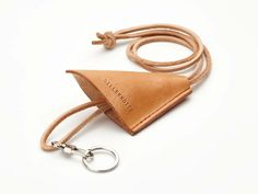 """The product """"Chrissy"""" key strap  /  nøglesnor is sold by SILLEKNOTTE - handmade leather in our Tictail store.  Tictail lets you create a beautiful online store for free - tictail.com"""