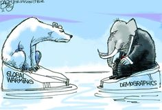"""Republicans on Ice""  This Pat Bagley editorial cartoon will appear in The Salt Lake Tribune on Thursday, Nov. 8, 2012."