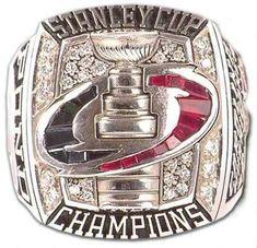#12 carolina hurricanes 2006 stanley cup championship ring