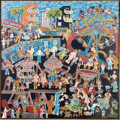 Arte Inspo, Maud Lewis, Cobra Art, Grandma Moses, Naive, Illustration Art, Illustrations, Art History, Folk Art