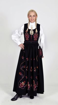 "knightofleo: ""Regional Versions of Bunad, Norwegian Traditional Outfit Happy Birthday, Norway of May) "" Folk Costume, Costumes, Norwegian Clothing, Ethnic Fashion, Nordic Fashion, Nordic Style, Traditional Dresses, Scandinavian Design, Norway"