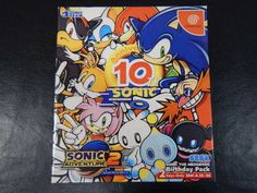 Sonic Adventure 2 Birthday Pack JPN  #retrogaming #HotDC  It seems complete but already at more than 50 USD. Auction.