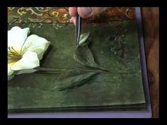 Mulher.com 30/09/2011 - Flor em Arte Francesa - YouTube