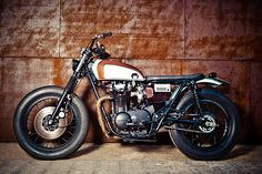 There a simple beauty in old motorcycles that I just love.