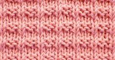 Easy to follow and suitable for beginners. The Ridge Rib stitch is a combination of knit, purl stitches.