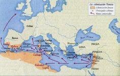 Colonización Fenicia