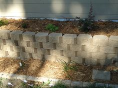 Raised flower bed project complete.