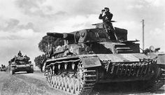 Panzer IVs of the 9. Panzer-Division, France, 1940