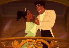 Are Naveen & Tiana your favorite Disney couple? Poll Results - Naveen & Tiana Belle Disney, Film Disney, Disney Couples, Disney Magic, Disney Pixar, Cutest Couples, Disney Fun, Tiana And Naveen, Prince Naveen