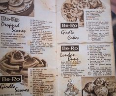 Old Cookbooks & Recipes ~ Be-Ro Dropped Scones for Breakfast ~ (Griddle Cakes) It's one of those mornings where you fancy something a little different, not toast and certainly not cereal, but a good old-fashioned home-style breakfast, in the manner of Little House on the Prairie or Enid's Blyton's The Famous Five……..something tasty and filling, and so... Read More »