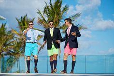 Bermuda shorts!