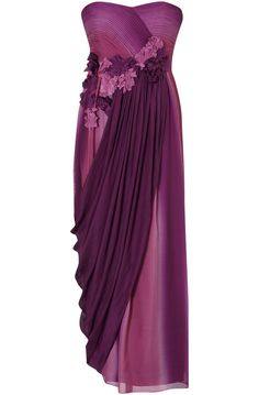Purple Bridesmaid Dresses | classic ballgown capped upcoming wedding or deep purple wedding dresss