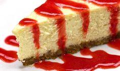 Cheesecake de morango rapidíssimo