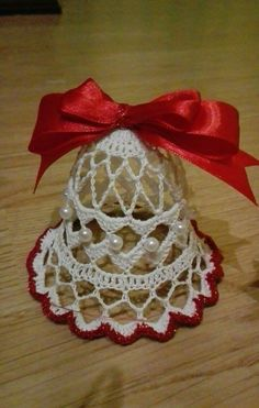 Crochet Christmas Decorations, Christmas Crochet Patterns, Crochet Ornaments, Crochet Crafts, Easy Crochet, Christmas Crafts, Crochet Angel Pattern, Crochet Coaster Pattern, Crochet Angels