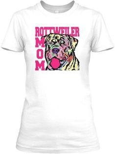 Rottweiler Mom T-Shirt