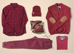 Celebrate fall with our go-to color of the season: oxblood.