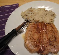 Christine's Pantry: Brown Sugar Glaze Pork Chops