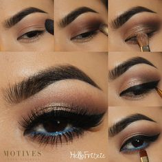 """Can't wait to try this look created by @hellofritzie using #motives"