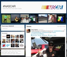 Twitter aired its first TV commercial during Sunday's Poconoa 400 NASCAR race that aired on the U.S. cable network TNT.