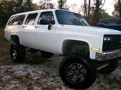 custom chevy suburban | 1990 Chevrolet SUBURBAN | Custom Off Road ...