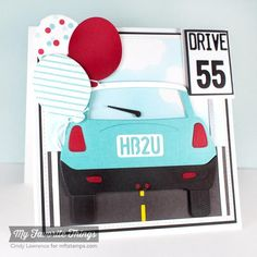 DTGD14stampertammy: Drive 55! by One Happy Stamper - Cards and Paper Crafts at Splitcoaststampers