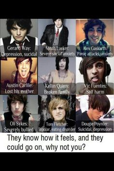My idols and my reason for life!c: