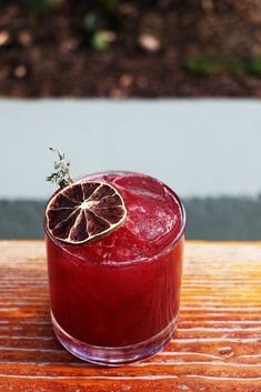 Drambuie and blackberry purée bring sweetness to this mezcal cocktail from Sazerac in Phoenix. Mezcal Cocktails, Cocktail Drinks, Cocktail Recipes, Alcoholic Drinks, Beverages, Craft Cocktails, Drink Recipes, Tequila, In Vino Veritas