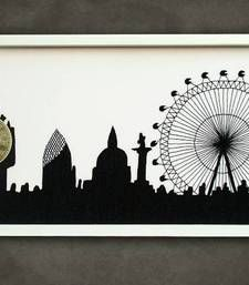 Buy London city art black home-acccessory online, Buy home-acccessories online