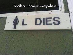 Haha love this. Absolutely hate spoilers though. Glad I've already seen this anime.