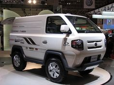 Mud Master-C is a miniature transporter designed in Daihatsu