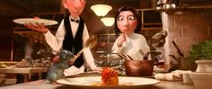 Ratatouille Anton Ego Flashback, this scene gave me goosebumps Ratatouille Movie, Slow Cooker Ratatouille, Food Film, Animation Tutorial, Cooking Classes For Kids, Le Diner, In Case Of Emergency, Animation Movies, Warriors