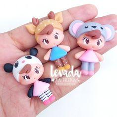 Polymer Clay Cupcake, Cute Polymer Clay, Fimo Clay, Polymer Clay Crafts, Clay Crafts For Kids, Diy And Crafts, Paper Clay, Clay Art, Felt Dolls