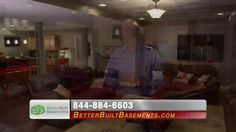 Better Built Basements: Scot Haney Endorsement 15 - How would you like to take your basement from unfinished to unbelievable? You can with the help of Better Built Basements! http:/www.betterbuiltbasements.com