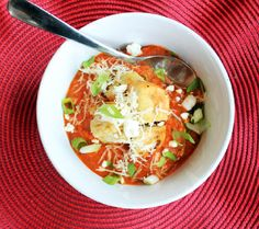 Tuscan Tomato Soup with Creole Croutons - Creole Contessa