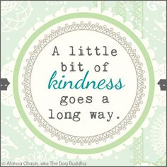 quotes about kindness / inspiration