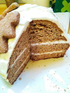 Coconut Christmas cake