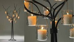 metal tree centrepieces - Google Search