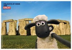 Shaun's taken the perfect selfie by the world famous Stonehenge in Wiltshire. #VisitEngland